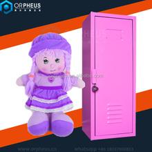 lovely design metal kids storage locker single door mini steel locker