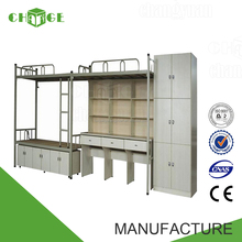 China direct factory price durable stainless steel double bunk bed