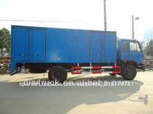 Dongfeng 10-15ton mini van de carga de camiones, 4x2 camión de carga