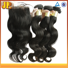 JP Hair Hair Bundles With Closure 5A 6A 7A 8A 10A Wholesale Brazilian Virgin Hair