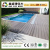Multifunctional indoor wpc floor wood plastic composite for swimming pool