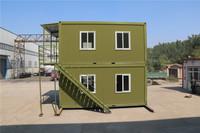 waterproof steel corner fashion habitable assembled houses