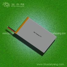 8051105 polymer 4000mAh rechargeable 12v lithium tablet pc battery ,lithium ion battery 4000mah