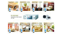 Home central control background music systems,for restaurant,villa use