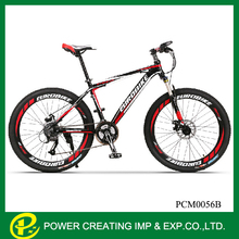 26''*17''Resistance rubber fork aluminium alloy duke ofintegrated mountain bicycle with hydraulic disc brake
