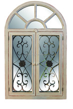 window shutter design art minds antique mirror