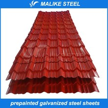 pp corrugated plastic sheet of building PPGI materials