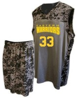 Stan Caleb Camo Digital Sublimated Youth High Quality Custom Basketball Uniforms