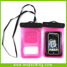 OEM Hot Sale Outdoor Swimming Phone Packing PVC Waterproof Pouch