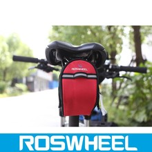 Wholesale China manufacture colorful water proof expandable saddle bicycle bag 13567