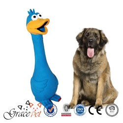 New Cute Dog Squeaky Toys Screaming Chicken Toy For Pet dog toys free samples