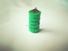 nimh 4.8v 40mah battery pack with P style Pins