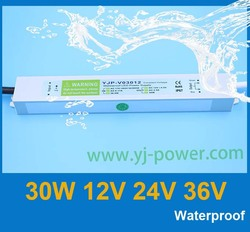 shenzhen manufacturer constant voltage 30w led driver 12v 24v 36v, led light driver 24v 30w