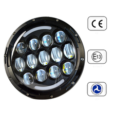 2015 High Power new 7inch led headlight, P hilips LED/lamp led head light 85w for harley motorycyle