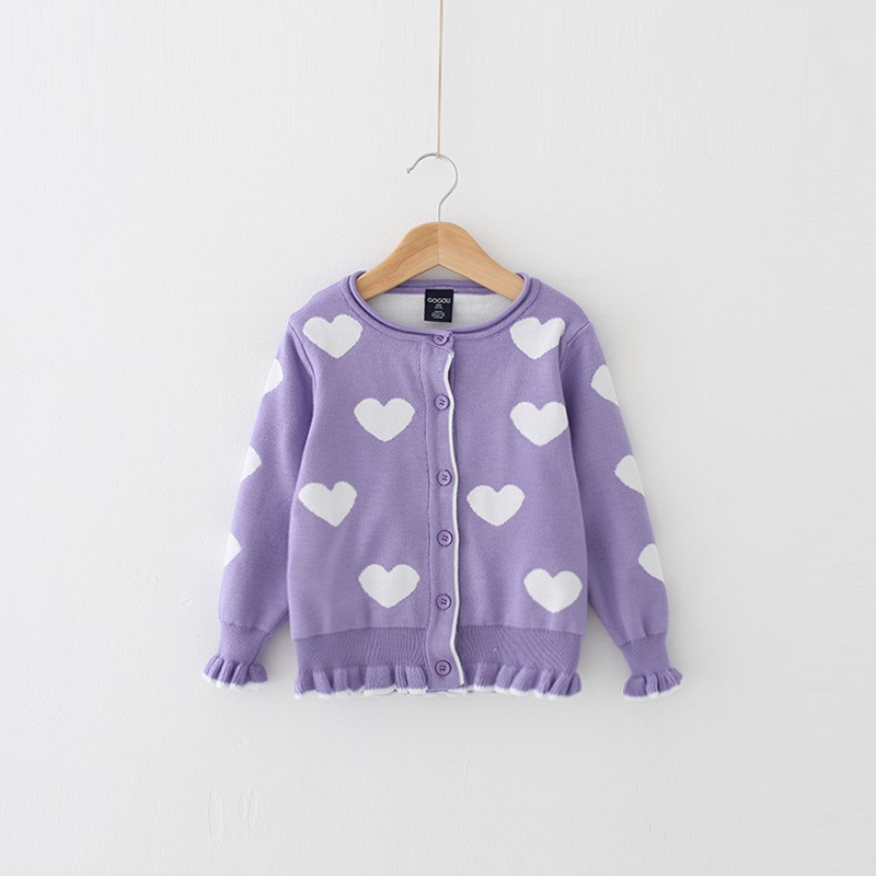 Hand Knit Design Ruffled Sweater Of Girls Christmas Photo Direct Buy China