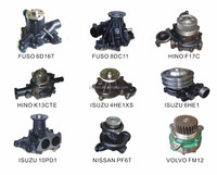 WATER PUMP FOR JAPANESE & EUROPEN TRUCKS
