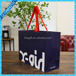 Cheap unique printed paper shopping bag
