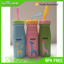 The new super of portable OXGIFT Korean cute animals double vacuum cups RH523-550
