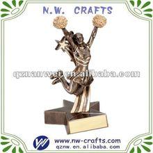 resina de ánimo premio que lleva figuritas artesanales