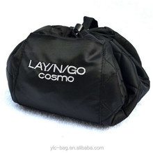 2015 wholesale promotion roll n go cosmetic bag