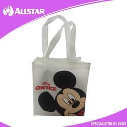 ASD2015A024 Reusable Non Woven Laminated handle Shopping Bag