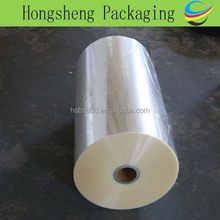 Protective plastic film, stretch wrap plastic film packaging material in roll