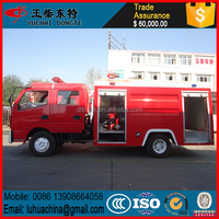 High quailty aerial ladder fire truck with water tanker for sale