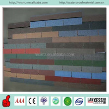 Colored Sand On the Surface Waterproof Factory Asphalt Shingles Prices