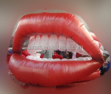 inflatable lip sofa