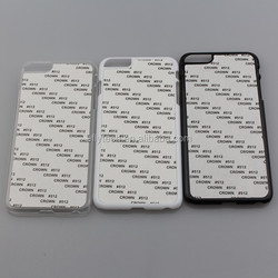 For iphone 6 plus 5.5inch Plastic Sublimation Cell Phone Cases blank sublimation cell phone case for custom