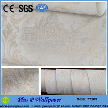 Latest Italian style wallpaper for bedroom walls/house decoration wall paper