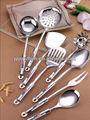 fábrica junzhan 2014 nuevo estilo elegante de utensilios de cocina con mango de plástico