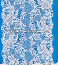 Hot sale European standard Jacquard elastic lace triming
