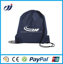 Custom logofactory supply nylon drawstring laundry bag