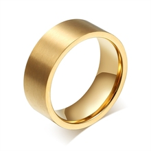 2015 latest fashion china factory stainless steel jewelry men's gold ring mens gold thumb rings men's gold finger rings