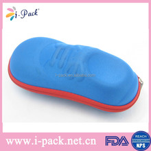 Wholesale children EVA case cute shoe shape hard kid glasses eva case for children