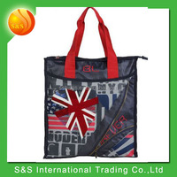 European style fashionable large capacity foldable handbag tote bag for prompt goods
