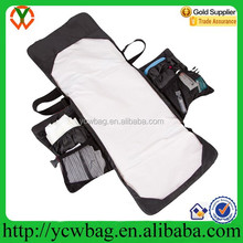fashionable design with many storage compartments travel change bag for baby