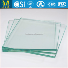 4-22mm crystal Flameproof tempered Glass with ce & csi certificate