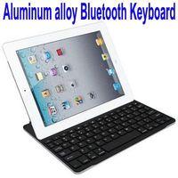 Factory Price Ultrathin Aluminum Alloy legoo mini bluetooth keyboard Case for iPad 2
