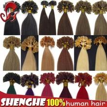 Prebonded Hair Double Drawn Human Hair U tip/Flat tip/I tip Hair Extensions Cheap Italian Keratin Hair
