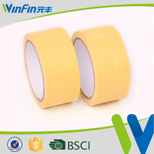 Professional Auto Painting Automotive paper masking tape brown