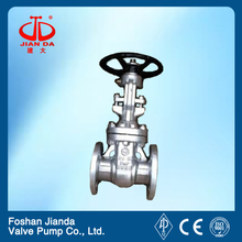 A216 butt weld gate valve with high quality