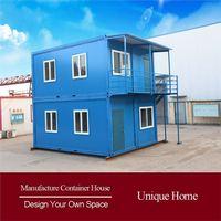 Modern log prefabricated light steel villa househouse