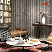 2015 guangzhou factory latest home pvc 3d wood wallpapers