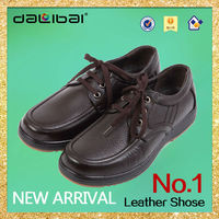 3290 fashionable european style men's leaher casual dress shoes, 100%genuine leather, color brown and black