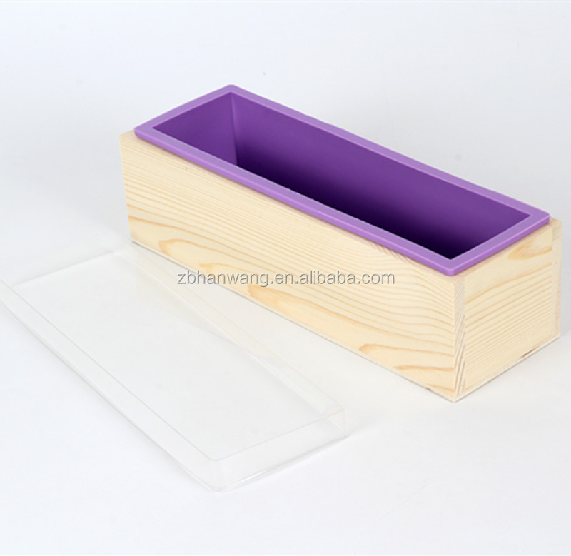 how to make a silicon liner mould for soap