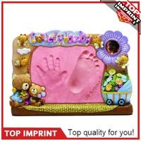 Customed Bare Baby Handprint Christmas Ornament