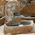 noria de piedra de la fuente para el jardín y paisajismo
