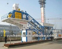 32 years Experience CompetitiveYHZS75 Mobile Concrete Batching Plant for sale